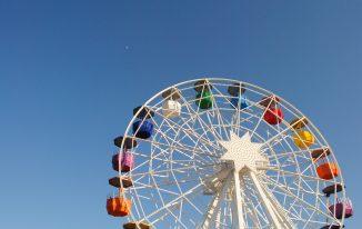 Tibidabo Ferris Wheel, Barcelona