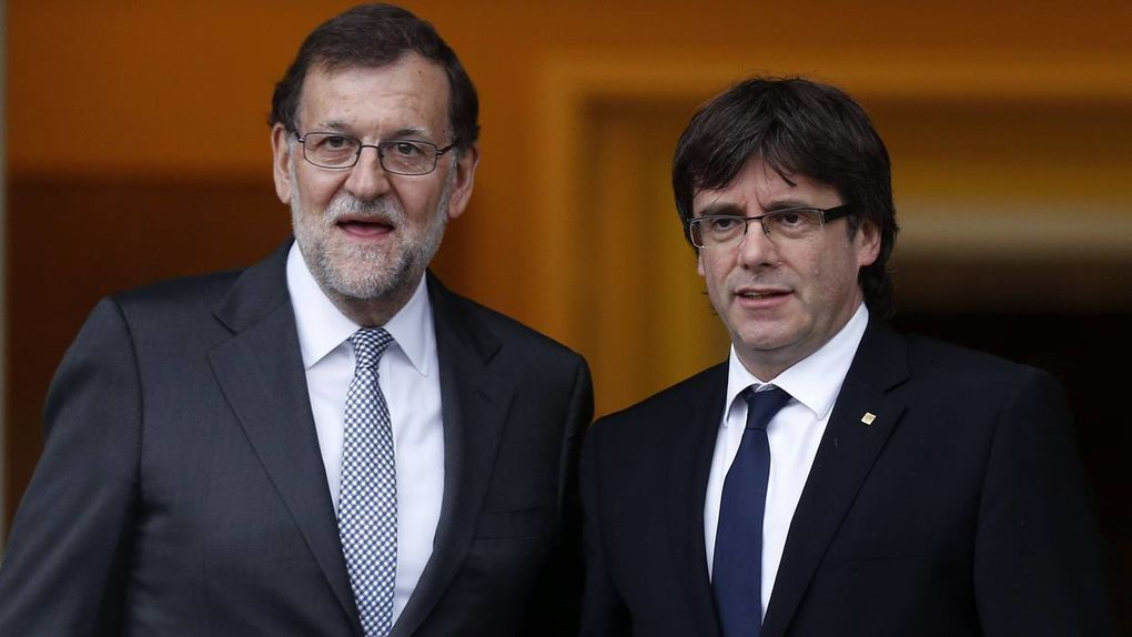 Rajoy and Puigdemont