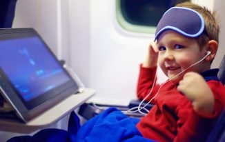 Flying Long Haul with Kids – A Survival Guide